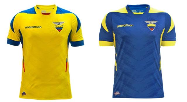 Camisetas selección Ecuador Mundial 2014