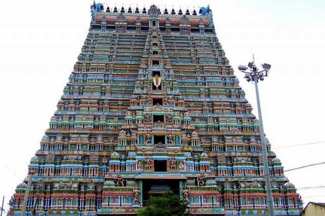 El Templo de Vishnu de Srirangam