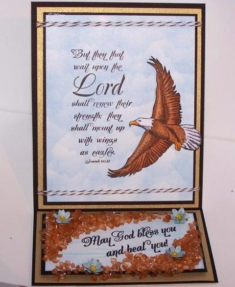 ODBD On Eagle's Wings, ODBD Get Well, Card Designer Jan Keen