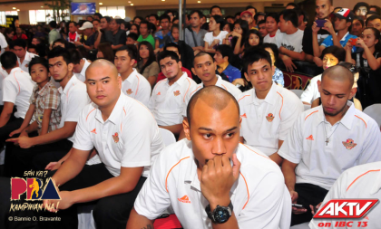 -foreign players sept. 12, Applicants for the coming pba rookie draft