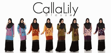 Ready Stock But Limited. Callalily & Rihana Blouse. Lets be Stylish.