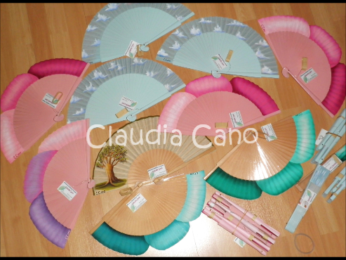 Abanicos para bodas y eventos Claudia Cano: Abanicos para bodas y