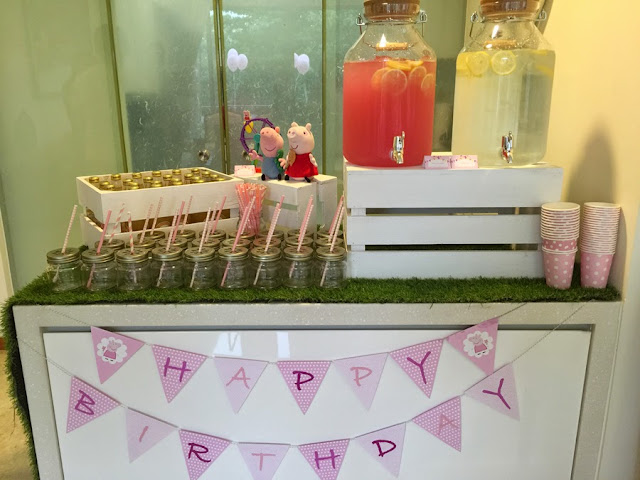 peppa pig themed party ideas