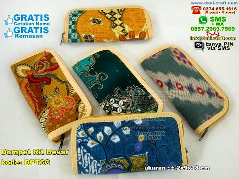 Dompet Rit Besar Batik