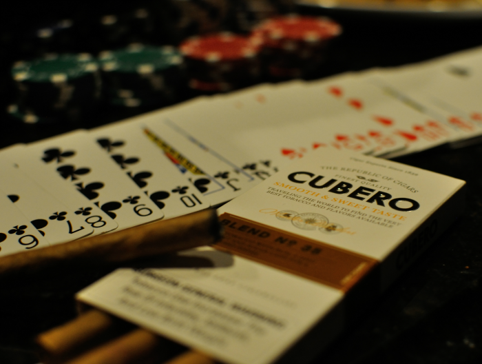 #CuberoLuxury, #PMedia, #ad, Poker Night, Cubero, Cigars