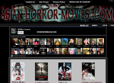 horror movies collection