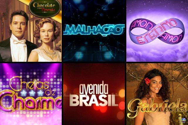 Novelas da Globo 2012