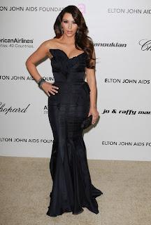 Kim Kardashian at the Oscars