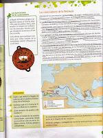 Párrafo dedicado a la Grecia clásica, extraído del libro de Conocimiento del Medio de 5º de EGB de la editorial Edelvives, correspondiente al curso 2012-2013.
