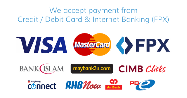 We Accept Payment