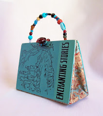 altered book purse