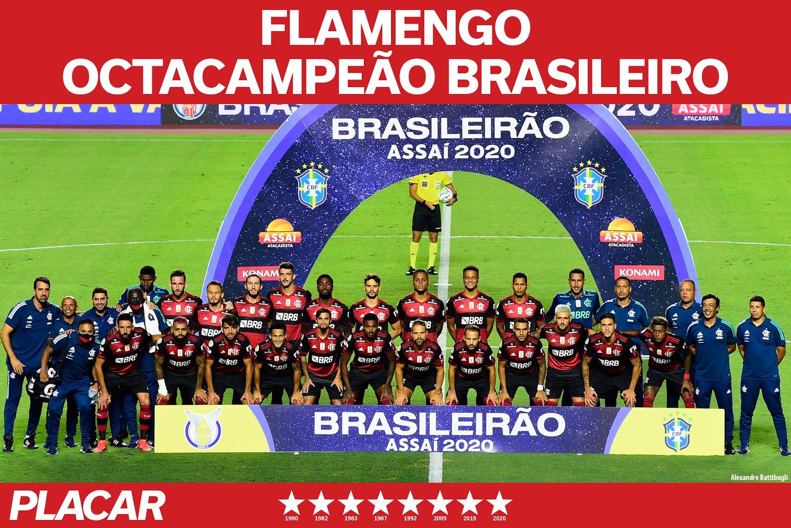 FLAMENGO BI CAMPEÃO BRASILEIRO 2020