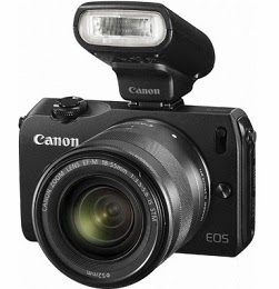 Unexpected Offer of Day: Flat 40% Off on Canon EOS-M Mirrorless Camera worth Rs.34995 for Rs.20995 Only at Flipkart (Free 4 GB Card + DSLR Camera Bag)
