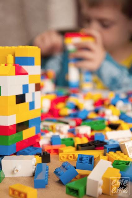 exposicion de Lego museo del ferrocarril