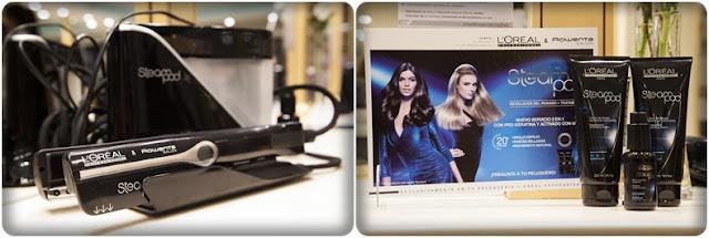 Steampod de L'Oréal Professionnel y Rowenta