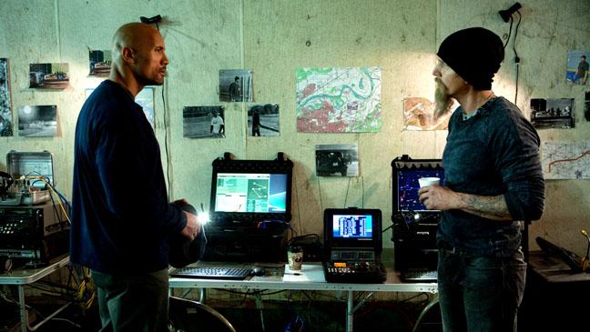 El infiltrado snitch for La roca film
