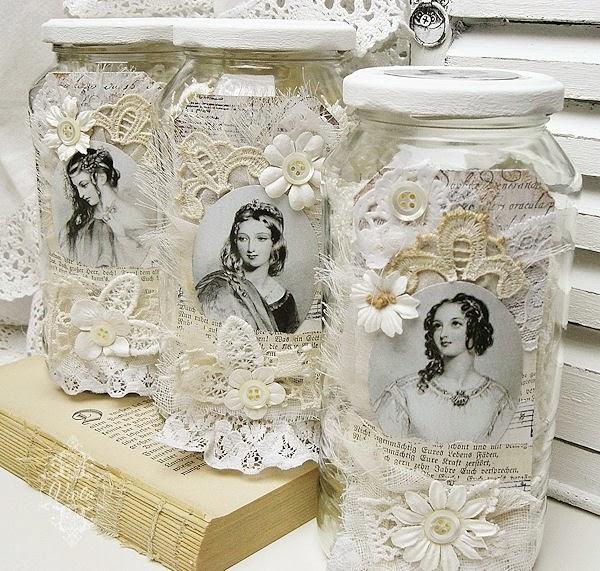 Reciclar vidros é chique - *Decoração e Invenção*
