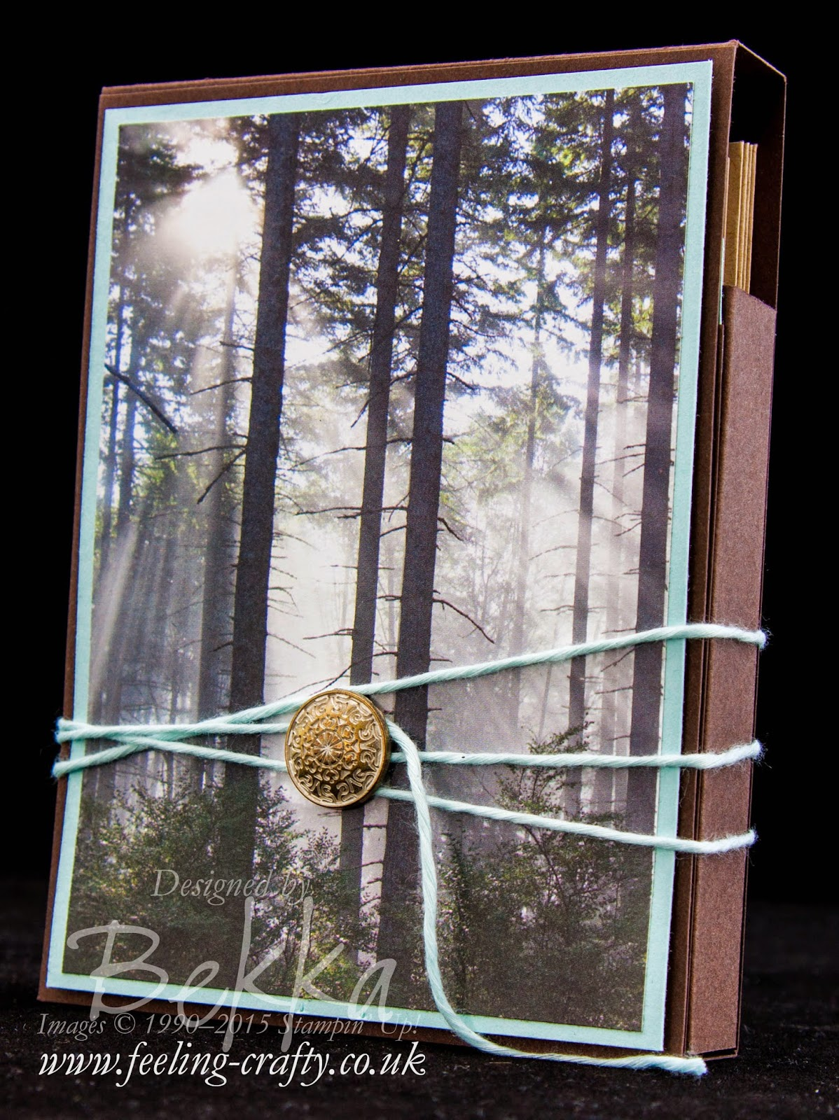 Make a Self Standing Box Of Cards - Free Tutorial Available - Details here