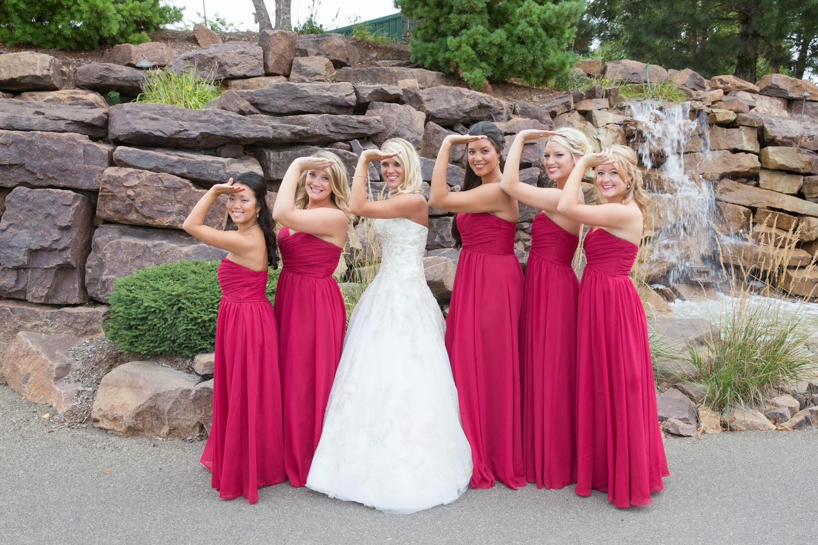 Delta Gamma wedding