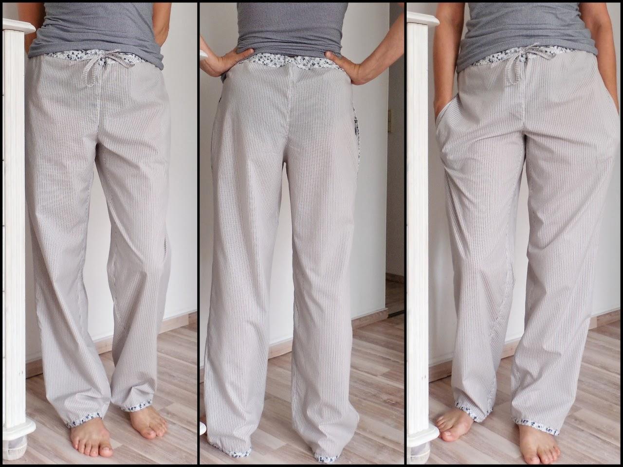 Judys Dies und Das: Pyjamahose beim Stoff, Schnitt & Stich-Sew Along