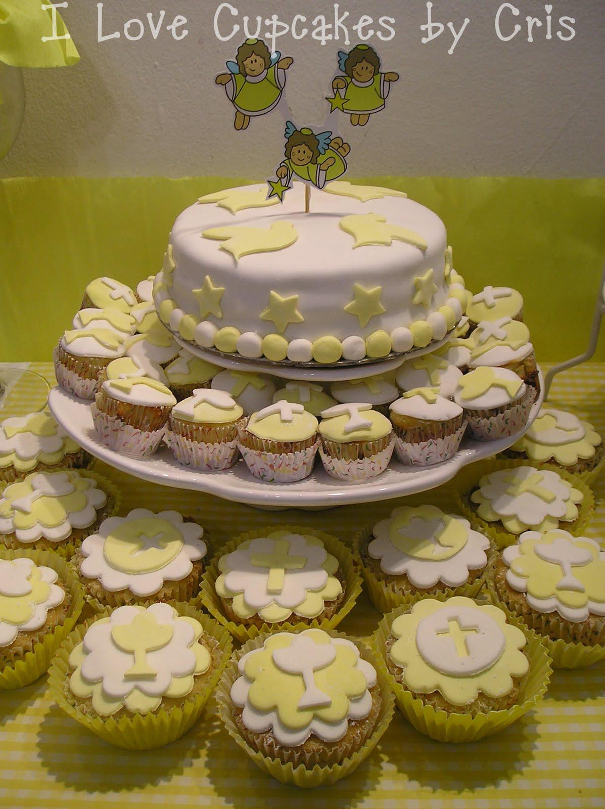 I love cupcakes mesa dulce para comunion - Mesas decoradas para comunion ...