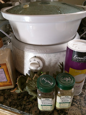 homemade bone broth supplies