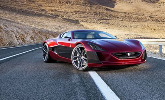 photos of Rimac Concept One Car expensive electric supercar