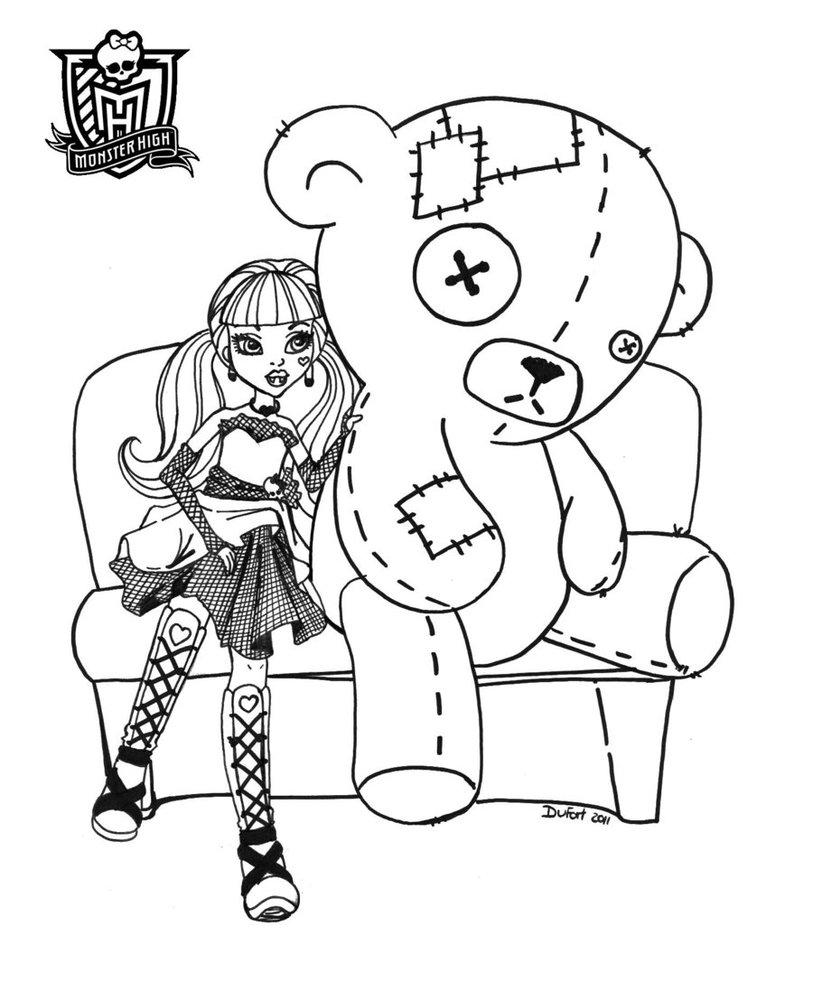 Jogos de Pintar Monster High 3