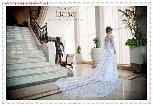 Liana Haute Couture 2014 gelinlik kolleksiyonu