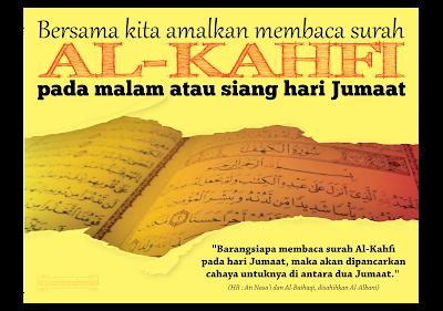 Kelebihan membaca Al-Kahfi di hari Jumaat