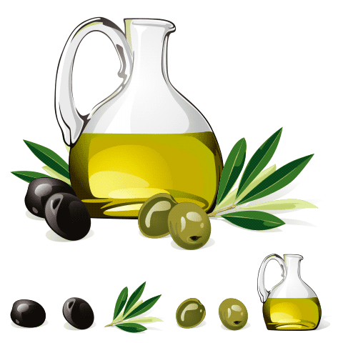Aceitera de oliva