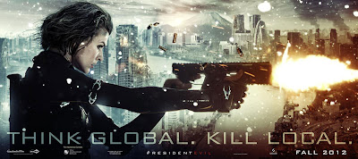 Resident Evil Retribution Película