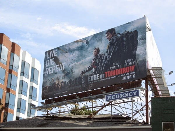 Edge of Tomorrow teaser billboard