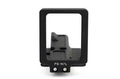 Sunwayfoto PS-N7L side plate attachment screws detail