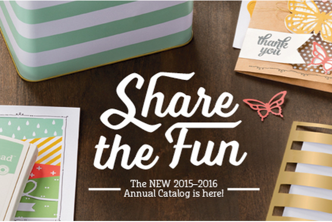 Stampin' Up! 2015 Catalog