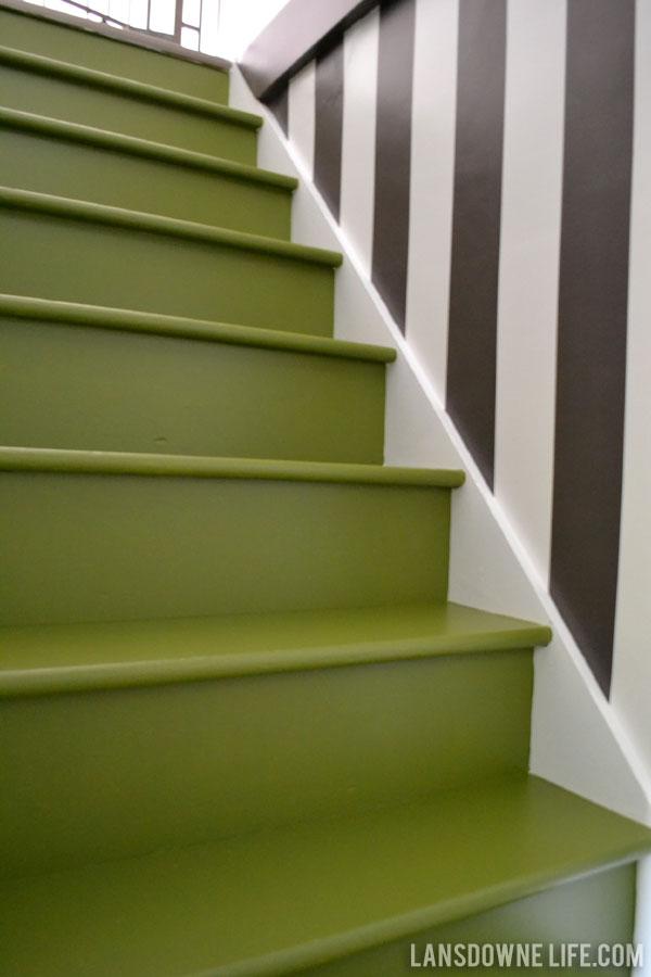 Stairway Progress Painted Stairs Lansdowne Life