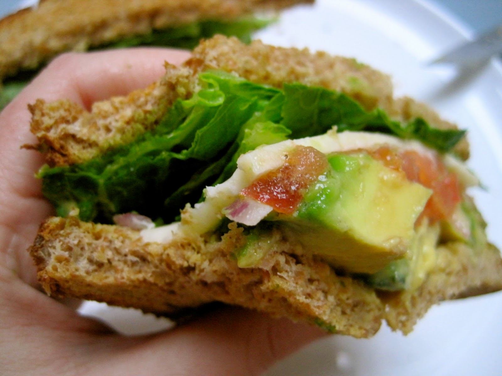 Avocado Cheddar Sandwich: Who Needs a Deli When You Can Have This?