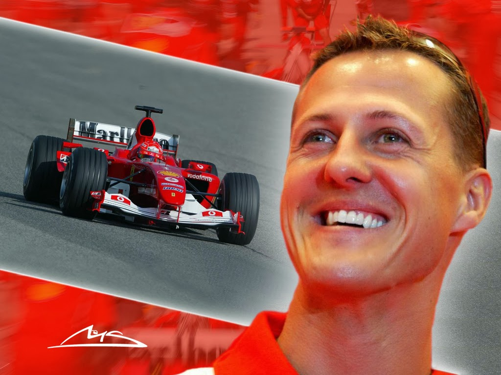 """SCHUMACHER: """"LIFE IS ABOUT PASSIONS"""""""