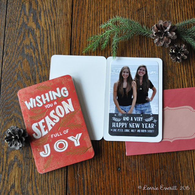 personalize holiday cards and gifts with photos | Lorrie Everitt Studio