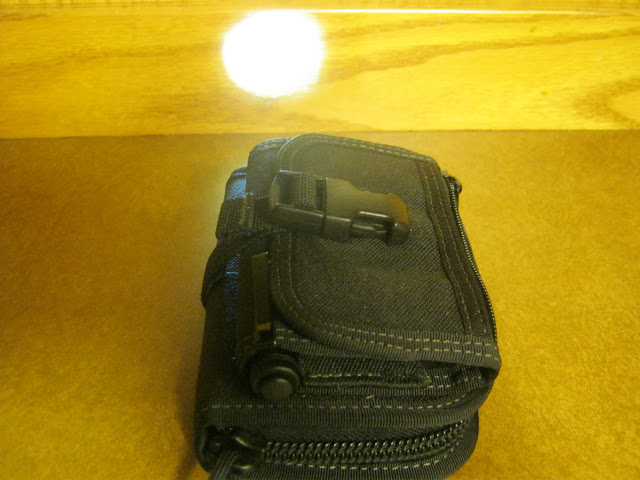 Streamlight Microstream AAA Flashlight showing a neat trick with the Maxpedition Rat Wallet