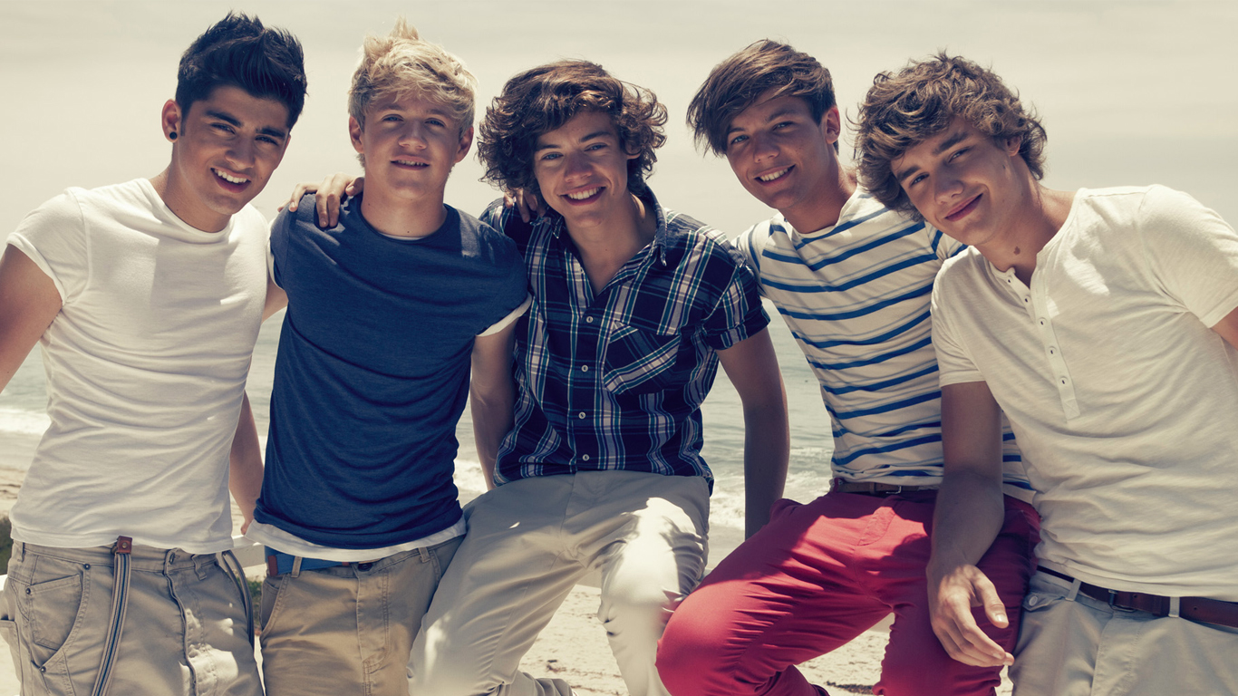 One Direction At The Beach Wallpaper   Right Click On The Image Above