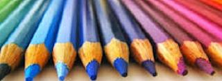 Lápis Colorido Apontados 4