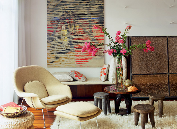 living room african style lovely interior decoration