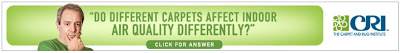 How Does Carpet Affect Indoor Air Quality?