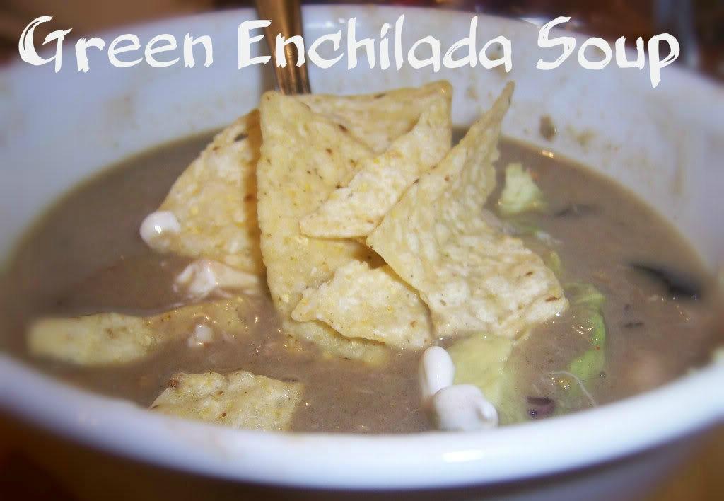 green enchilada pork soup to freeze