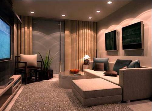Đèn led âm trần chiếu sáng không gian nội thất