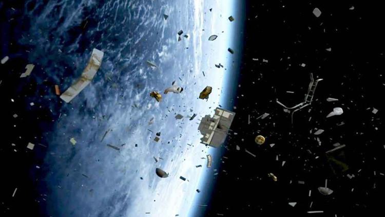 La guerra mundial comenzaría por destruir los satélites.