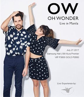 Oh Wonder Live in Manila