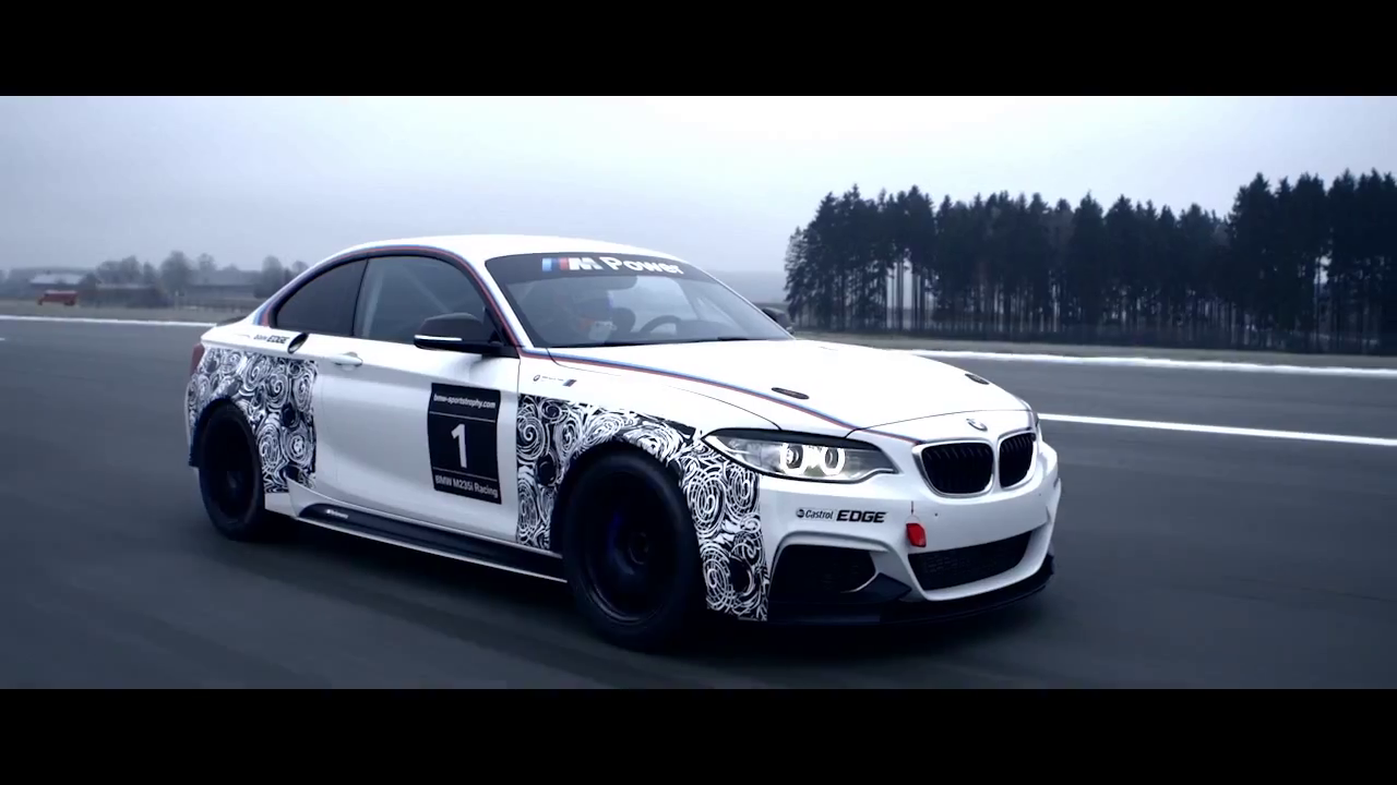 Bmw M 235i Racing Takes Shape In Real Life Video