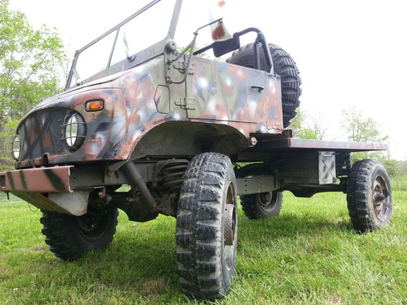 5k: Cheapimog: 1965 Unimog 404 Flatbed Truck